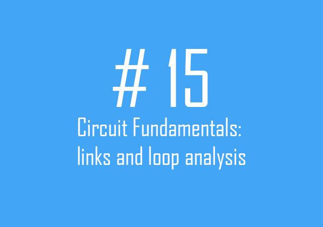 Links and Loop analysis
