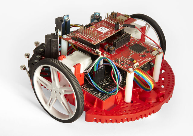 Students learn, build and compete with Robotics System Learning Kit