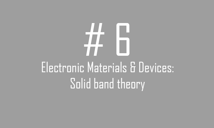solid band theory