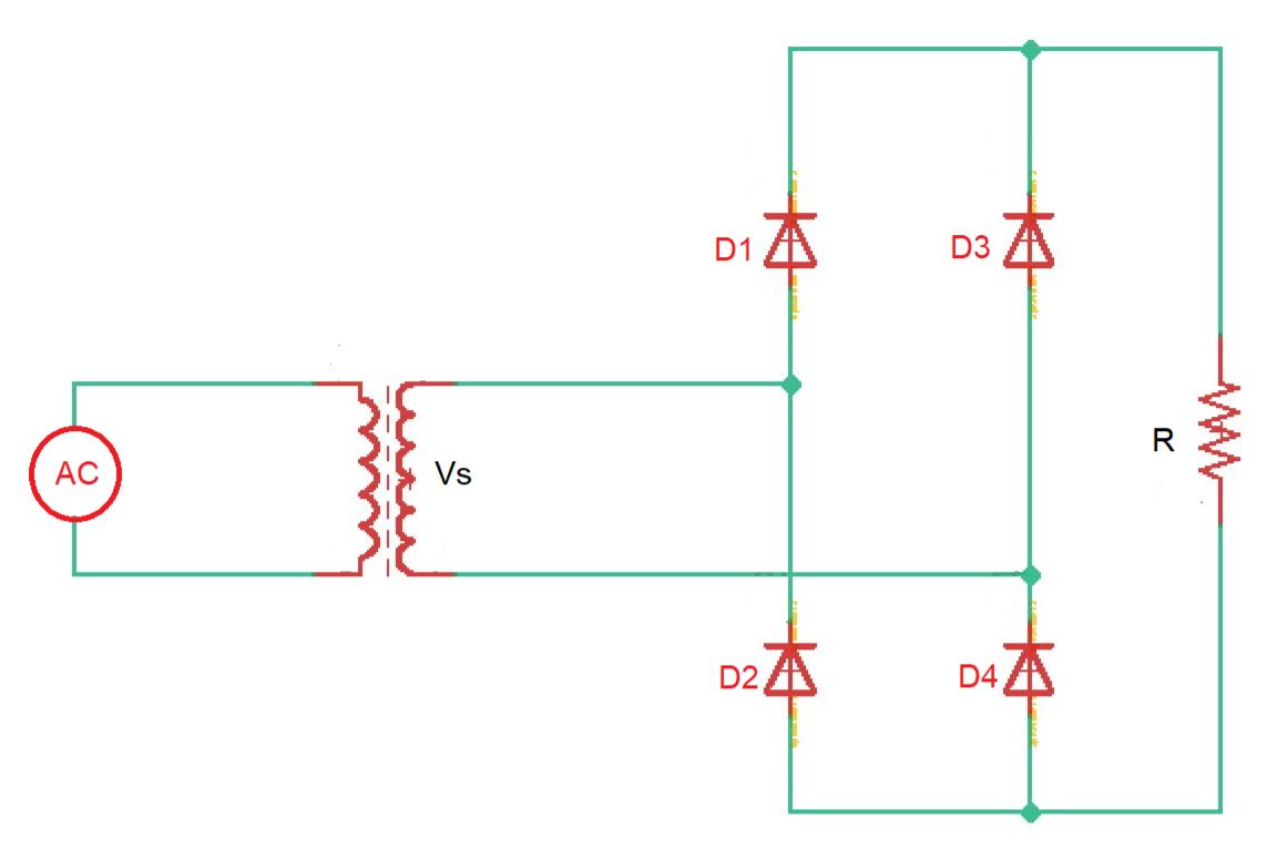 full-wave bridge rectifier