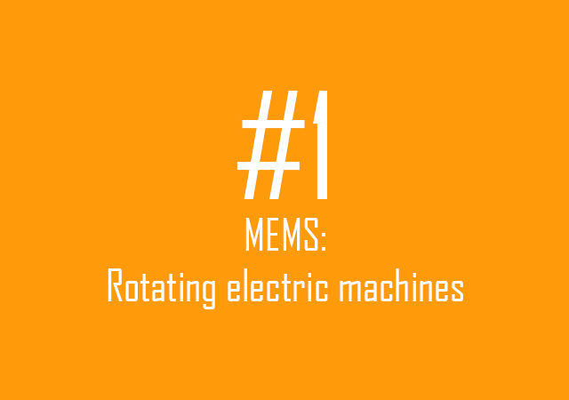 MEMS: Rotating electric machines