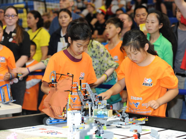 Sponsorship of FIRST LEGO League INTO ORBIT UK and Ireland STEM challenge