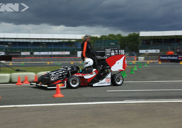 Student racing car winners go head-to-head following the Grand Prix