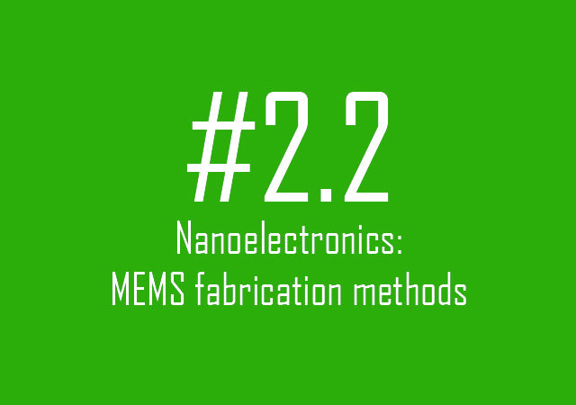 MEMS fabrication methods