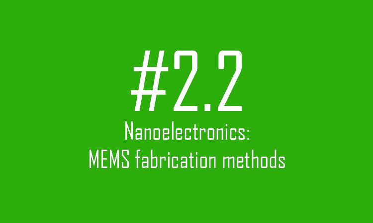 MEMS fabrication methods