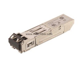 The Harting optical transceiver