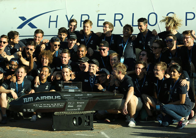 WARR Hyperloop team wins pod competition with Panasonic on board