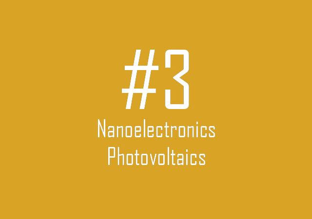 Nanoelectronics: Photovoltaics