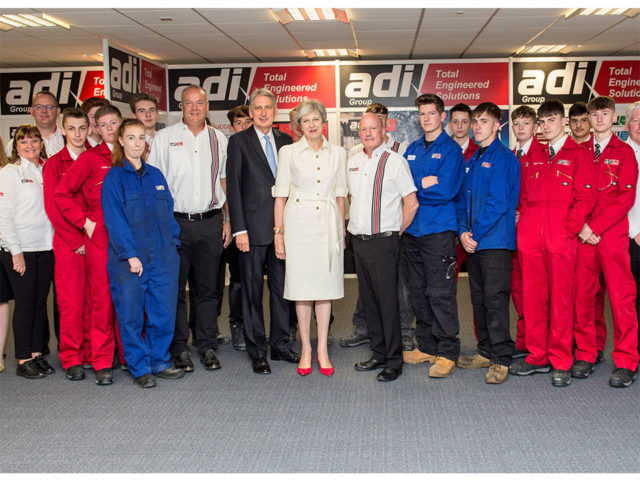 Adi Group Welcome UK Prime Minister & Chancellor to Highlight Commitment to Apprenticeships