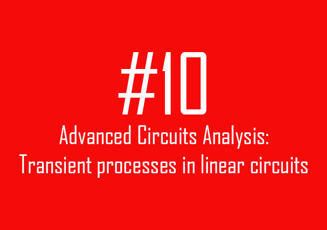 Transient processes in linear circuits