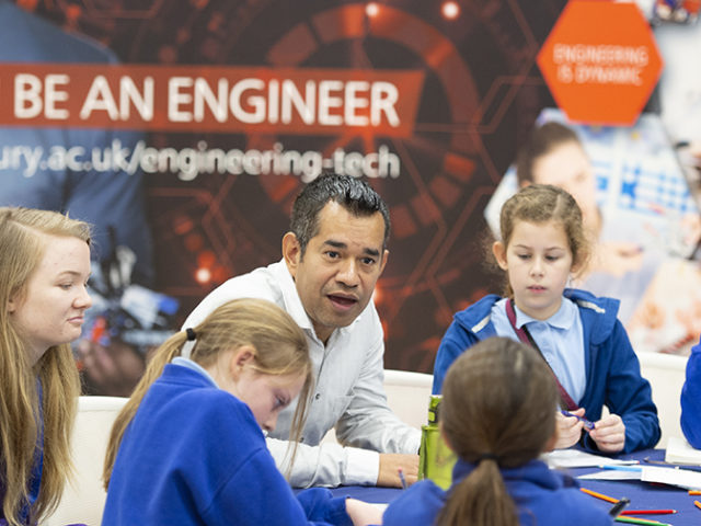 Canterbury Christ Church University and Primary Engineer Programmes inspiring the next generation of engineers