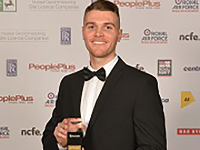 HydraForce's Daniel Millington wins 2018 UK Advanced Apprentice of the Year