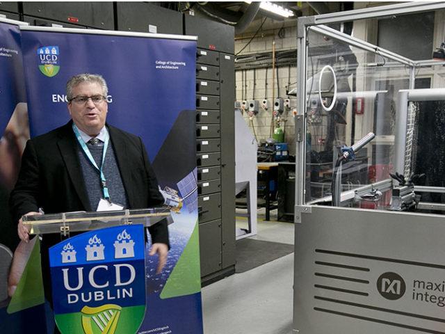Maxim Donates Unique Robotic Learning Factory to University College Dublin