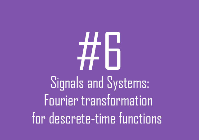 Signals and Systems: The Fourier transformation of discrete-time of periodic function