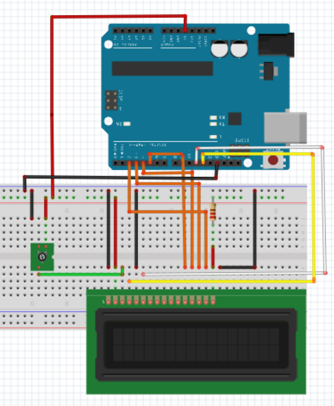 Connect LCD to your Arduino or alternative microcontroller board