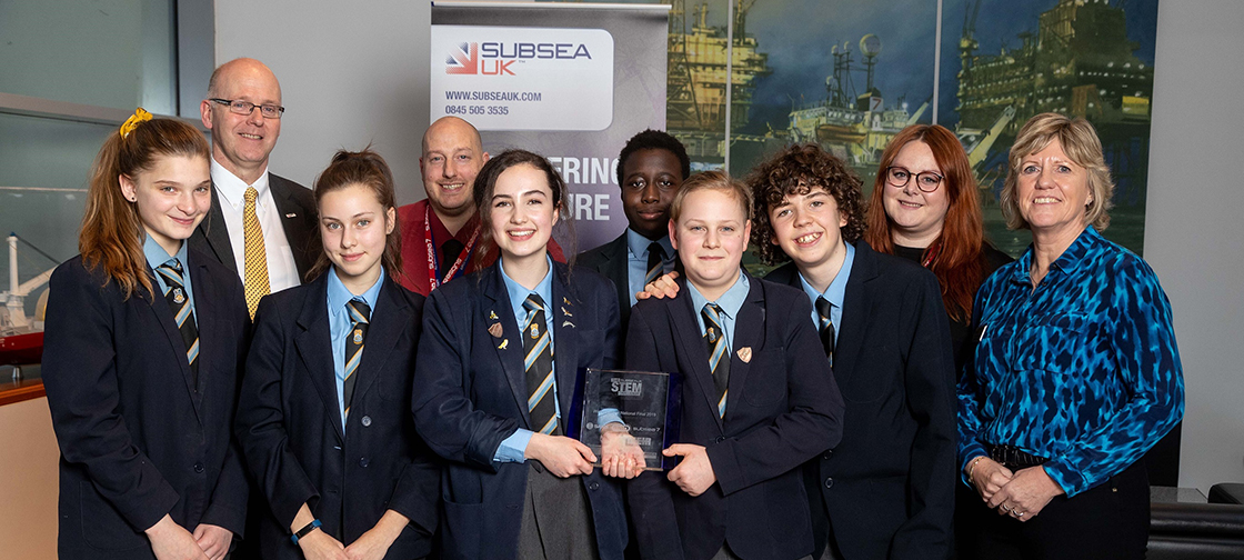 UK stem challenge winners