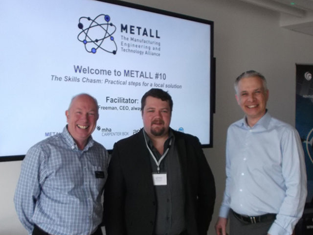 METALL #10 searches for the solutions to the skills chasm
