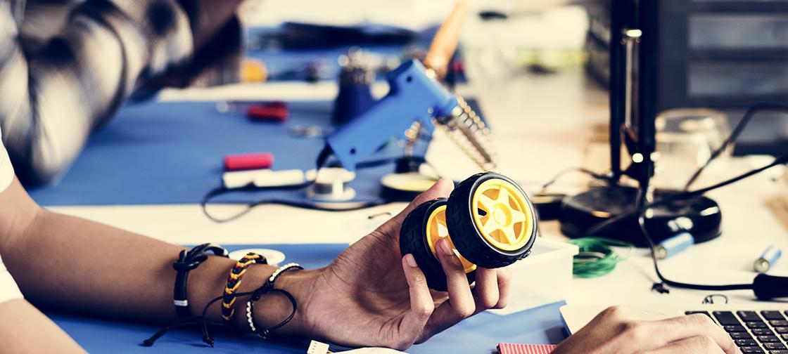 Georgia Tech developed tiny robot