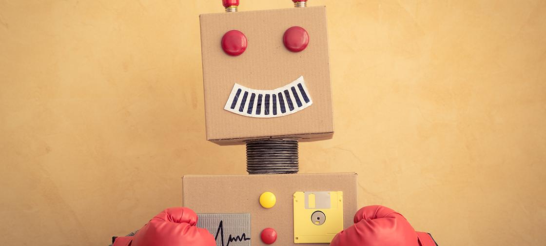 Ant type robot
