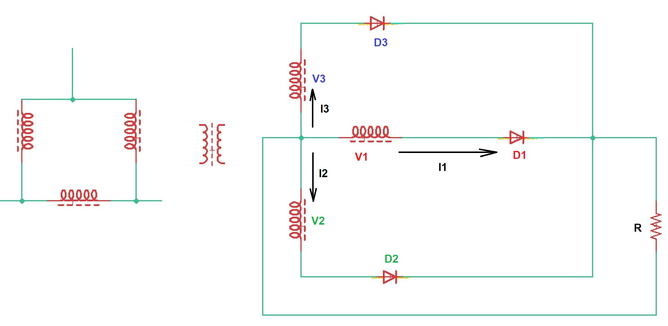 What is three-phase diode rectifier