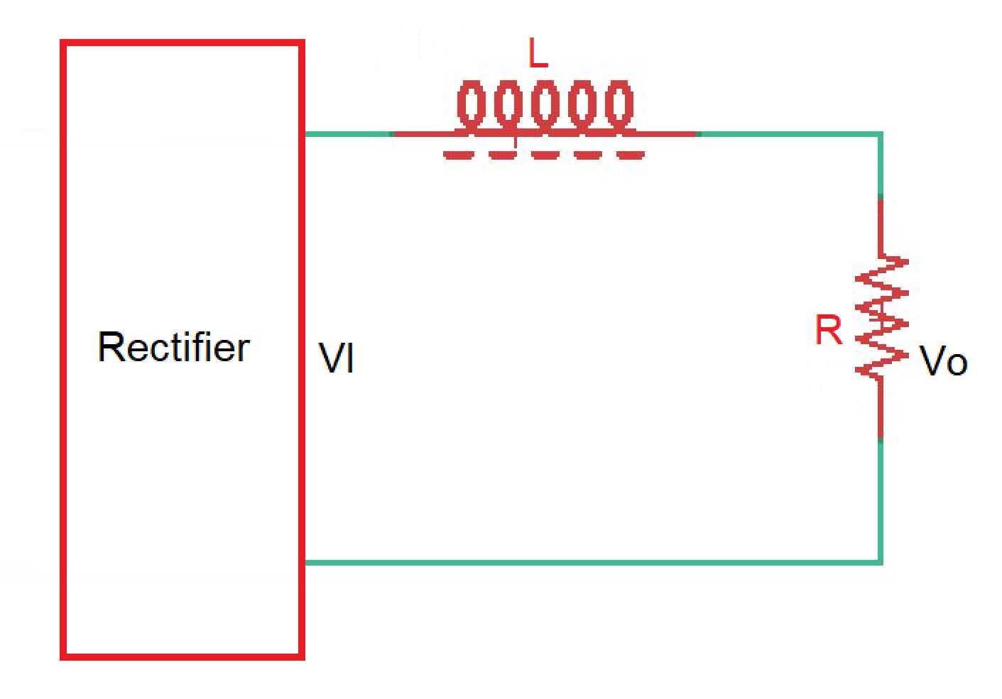 Why filter is used in rectifier