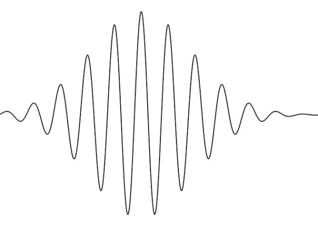 Single quantum vibration in ambient conditions