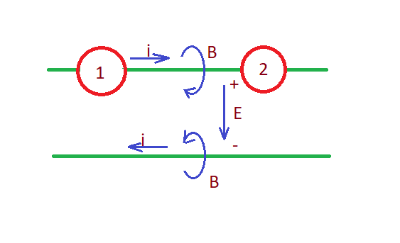 Energy storage components in the circuit