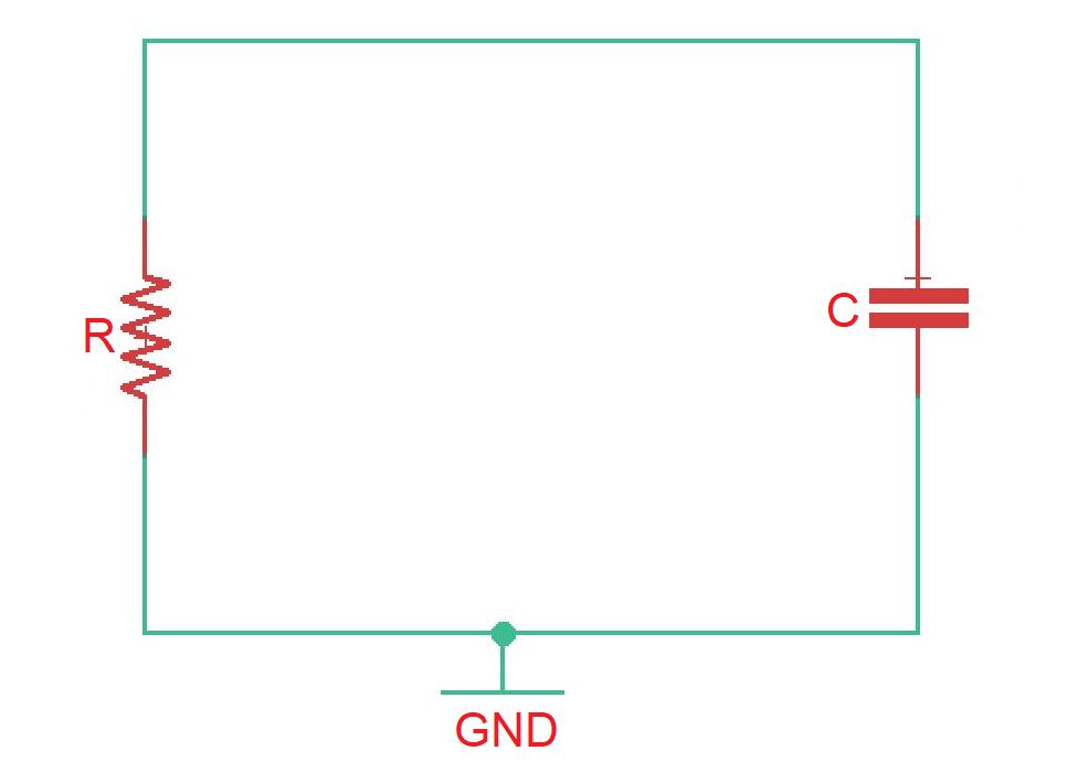 Parallel RC circuit analysis