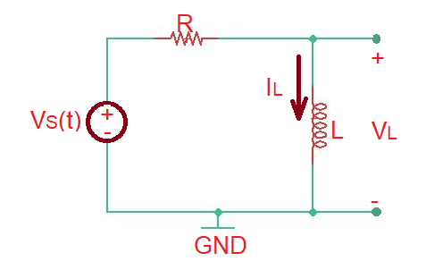 What is a series RL circuit