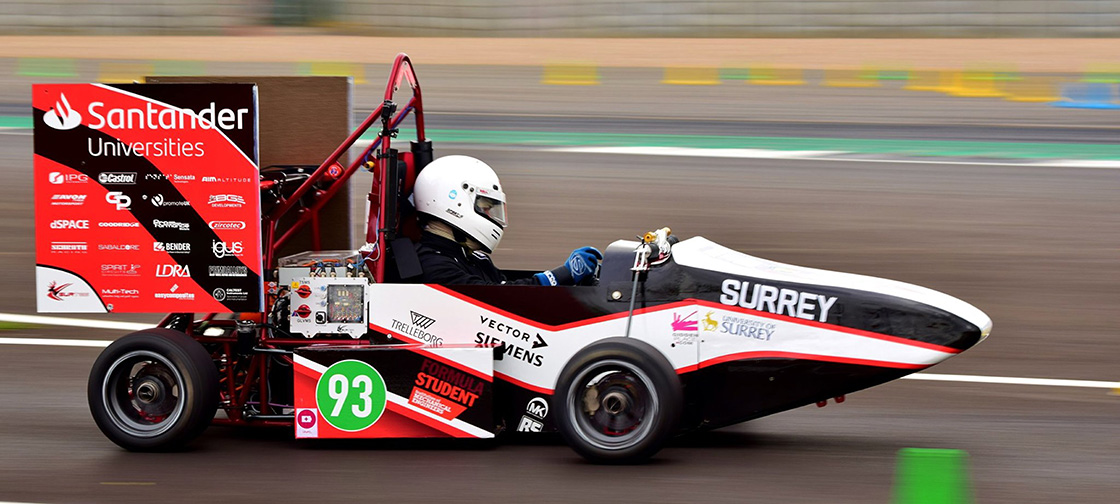 Formula Student team relies on igus cables for its triumphant all-electric car