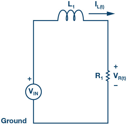 Figure 2. Series RL circuit.