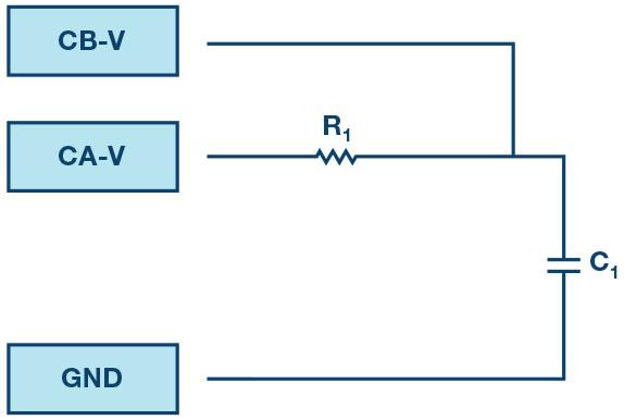 Figure 7. RC circuit.