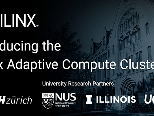 Xilinx and universities establish adaptive compute research clusters