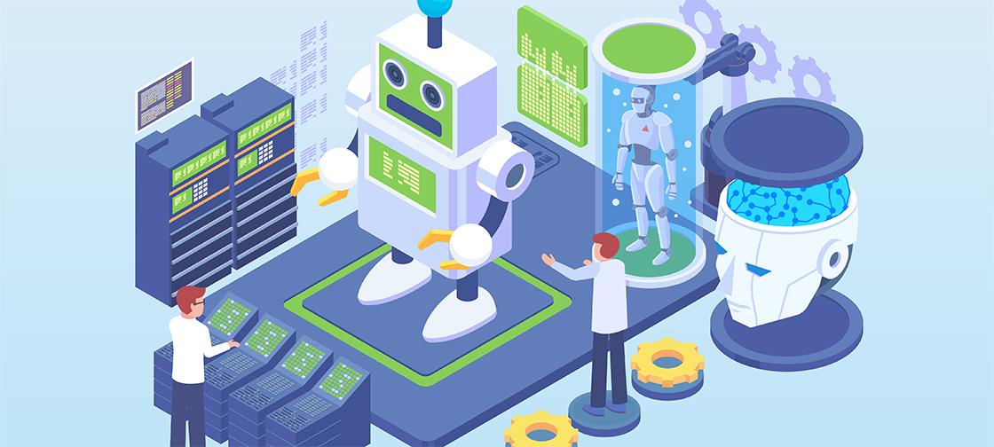 ML helps robots coordinate in space