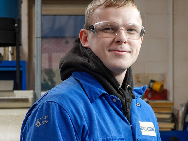 "Econ Engineering apprentice ""has the best job in the world"""