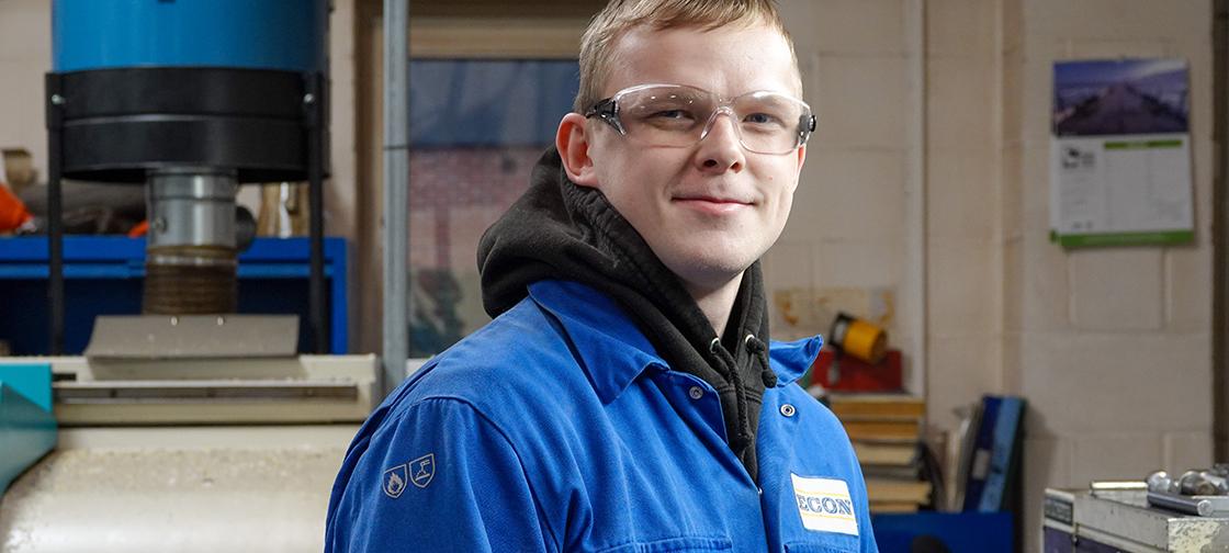 "Econ Engineering apprentice ""has the best job in the world"""