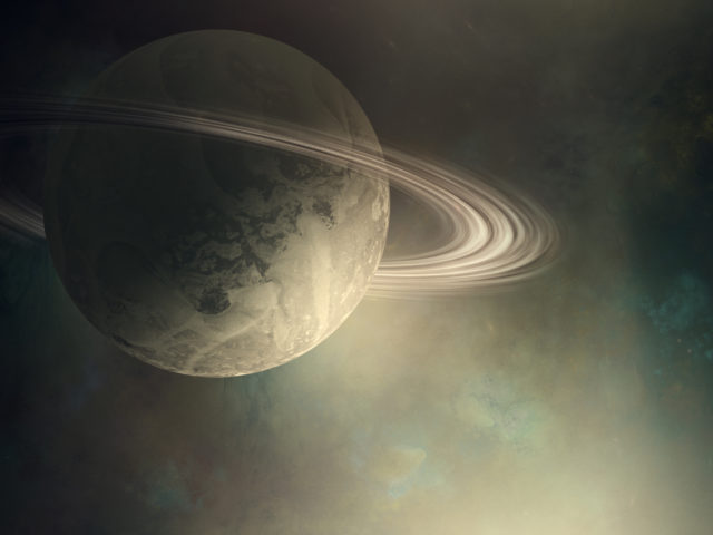 How Saturn makes ripples on it's rings