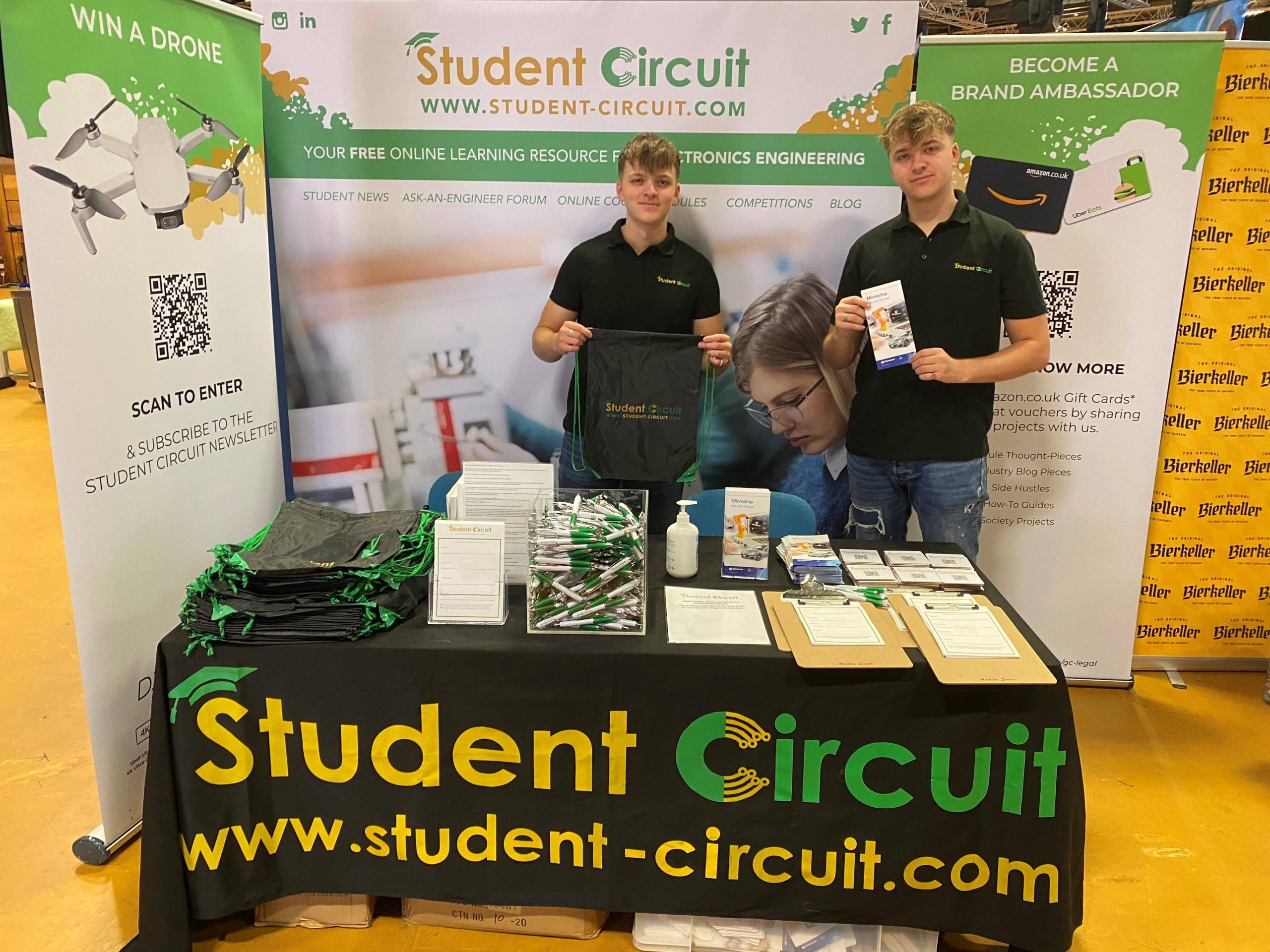 liverpool, freshers fair, student circuit, competition